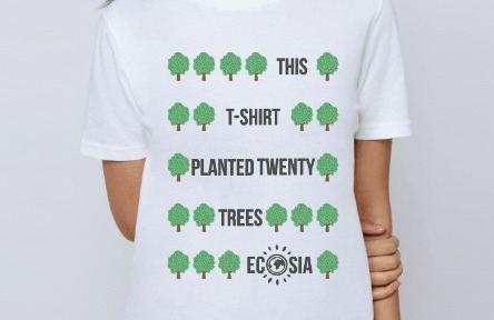 Visit Ecosia's online shop