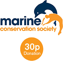 30p donation to the Marine Conservation Society for each sale