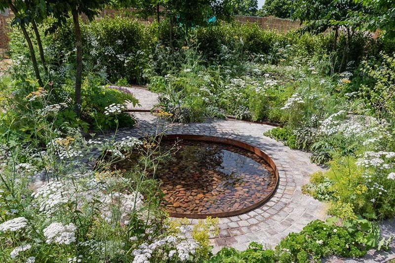 There are lots of beautiful gardens to be inspired by at RHS Hampton Court Flower Show