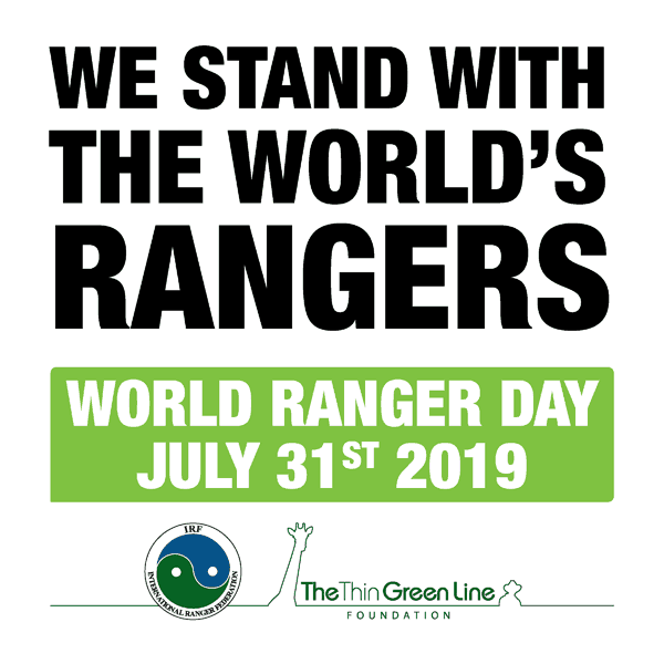 Show rangers around the world that we appreciate all they do for us and for wildlife