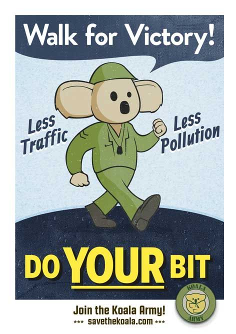Do your bit and walk for victory for koalas