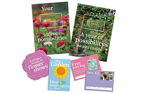 Why not give a loved one a gift membership to the RHS?