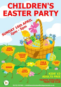 CHILDRENS EASTER PARTY 2017