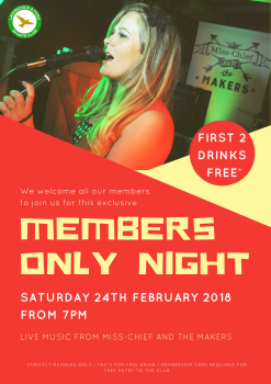 Members Only Night