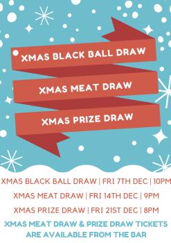 Christmas Draws Poster