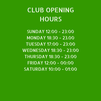 Club opening hours