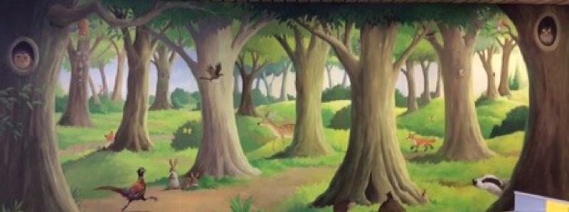 mural banner