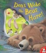 dont wake the bear hare!