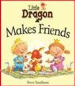 little dragon makes friends