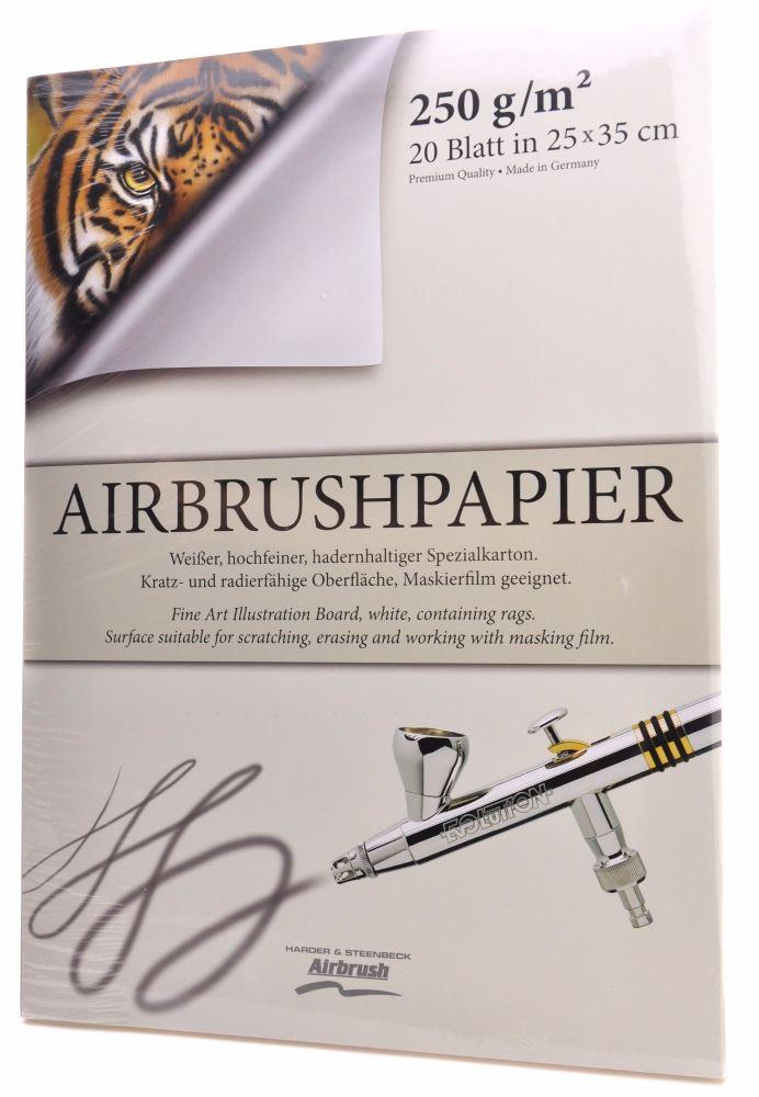 Airbrush Paper Pad - 250mm x 350mm
