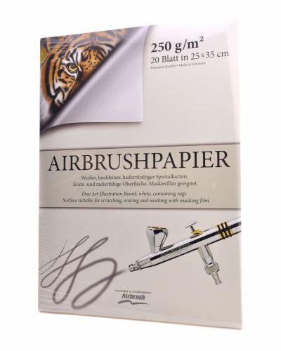 Airbrush Paper Pad - 350mm x 500mm