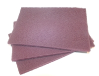 Pack of 3 Red Scotchbrite Pads