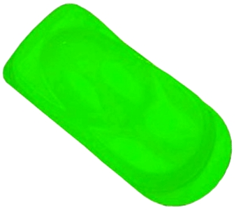 Fluorescent Hot Green - 120ml