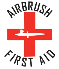 airbrush first aid logo