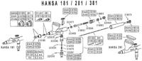 Hansa Spare Parts