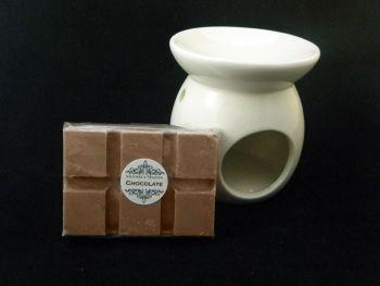 Chocolate Oil Burner Set
