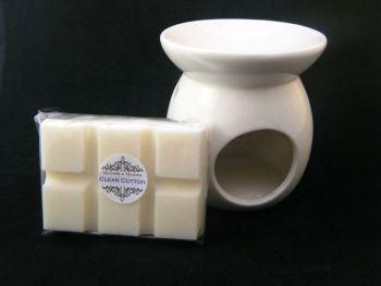 Clean Cotton Oil Burner Set