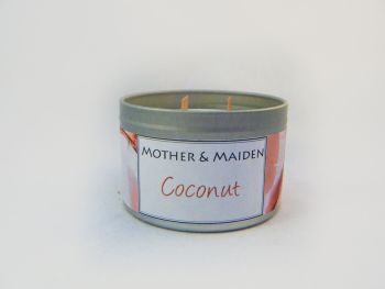 Coconut Wood Wick Tin