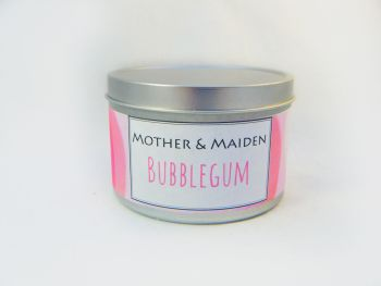 Bubblegum Wood Wick Tin