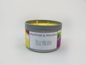 Jellybean Wood Wick Tin