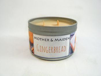 Gingerbread Wood Wick Tin