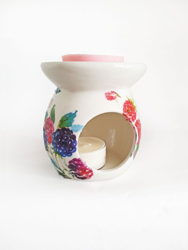 Berry Oil Burner, Berries Wax Warmer, Cherry Wax Burner
