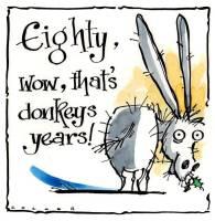 80 Donkey's Years
