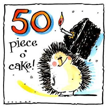 50  A Piece O' Cake