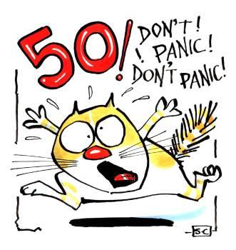 50 Don't Panic