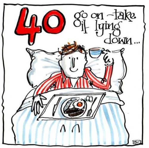 40 Take It Lying Down