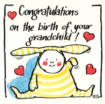 You Have A New Grandchild