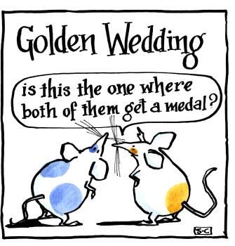Anniversary Golden Wedding
