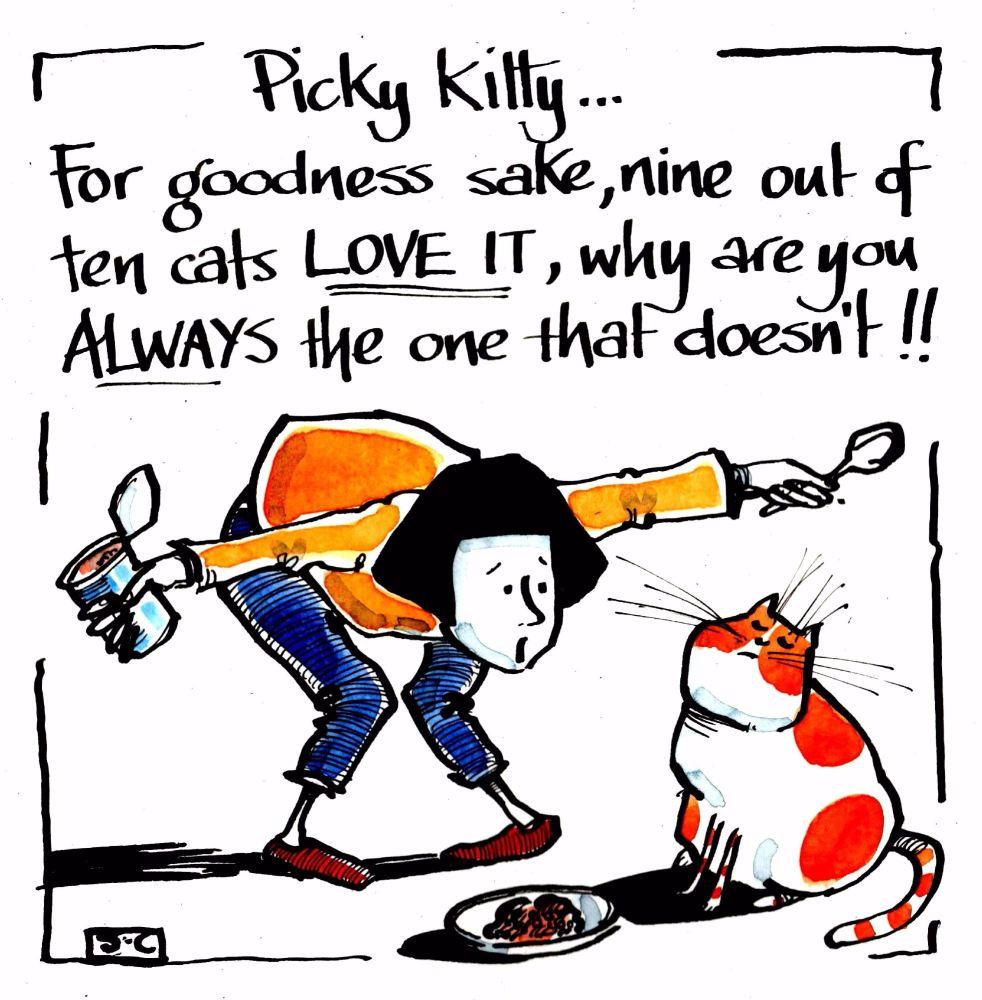 Picky Kitty