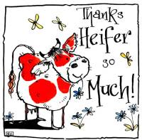 Thanks Heifer