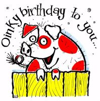 Oinky Birthday To You