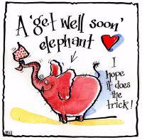 Get Well Elephant