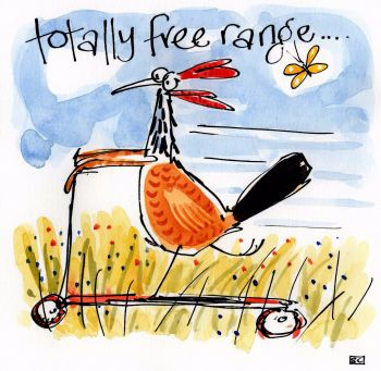 Happy Hen - Totally free range