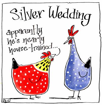 Anniversary Silver Wedding Housetraining