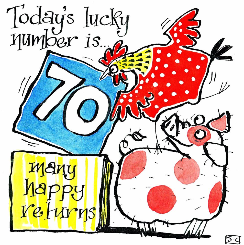 70 Lucky Number