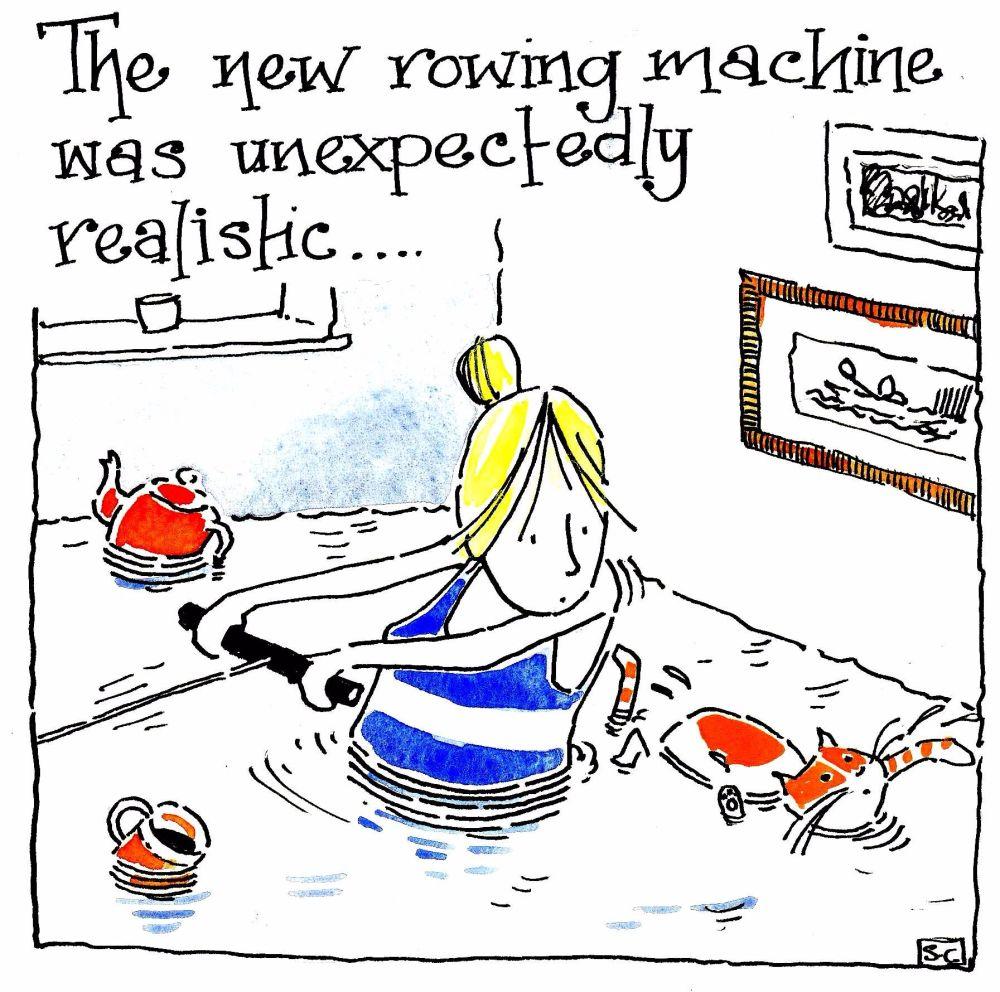 AAA  Rowing Machine