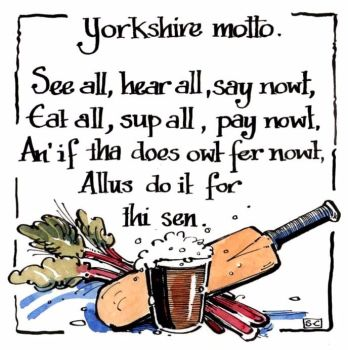 A Yorkshire Motto