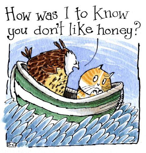 Owl & Pussy cat Honey