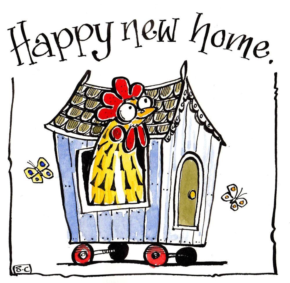 New Hen Home