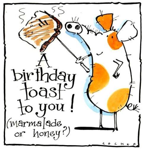 Birthday Toast