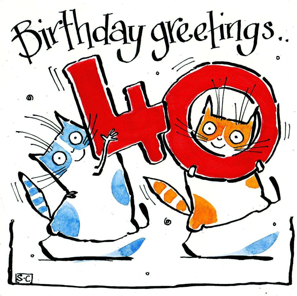 40 Cat Birthday Greetings