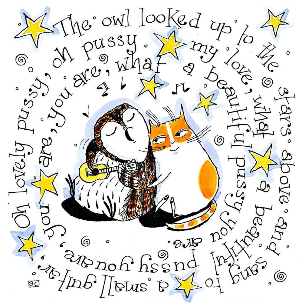 Owl & Pussy Cat Poem