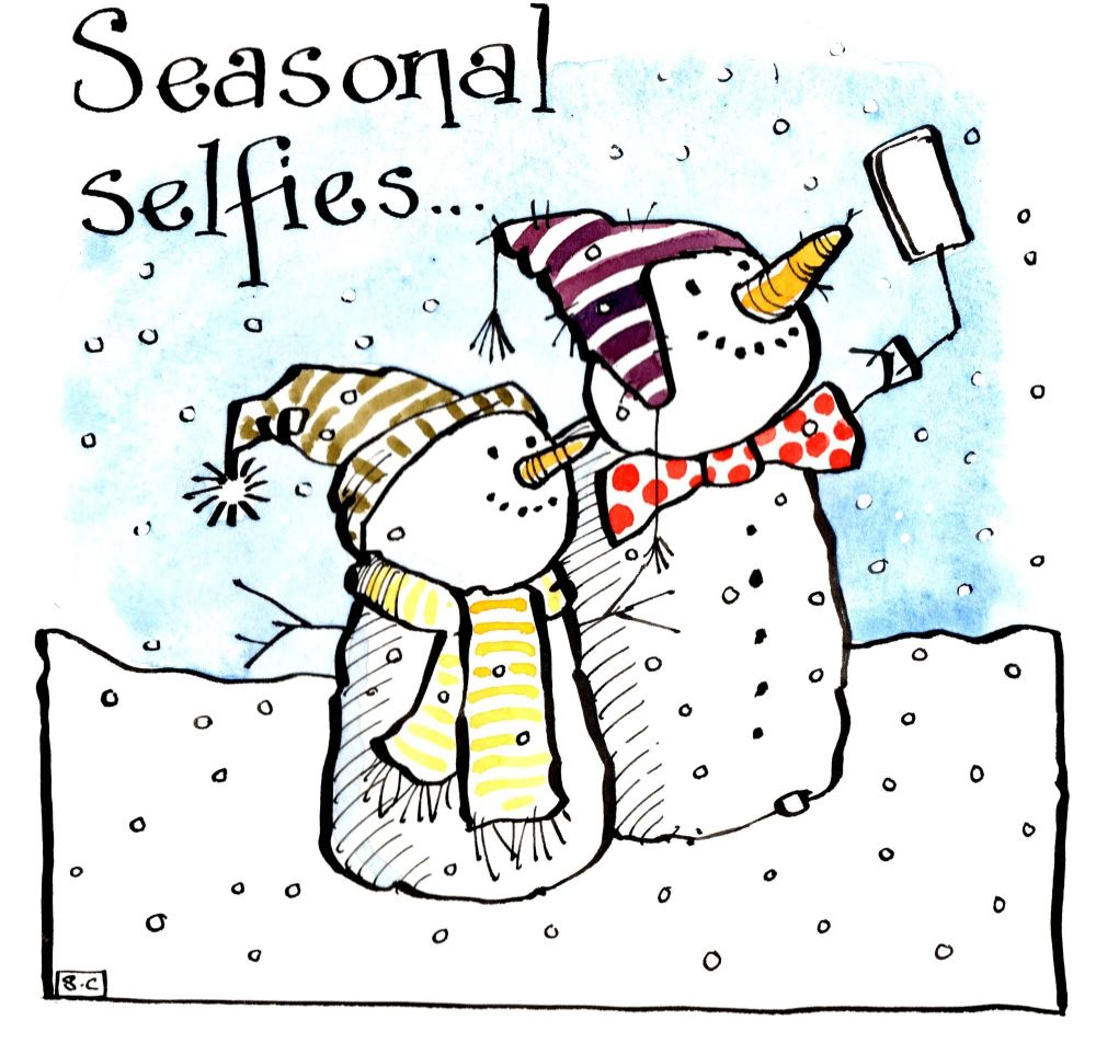 Seasonal Selfies