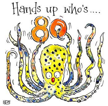 80 Hands Up