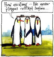 Cricketing Penguins