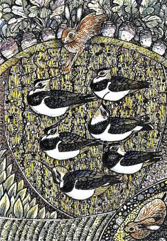 Inkscape Lapwings